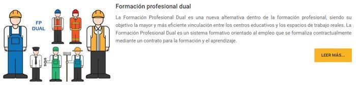 Cursos formación profesional dual