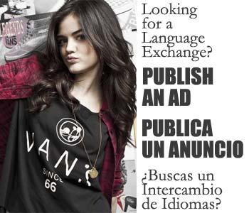 Anuncios intercambio de idiomas en España