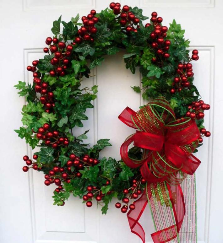 Wreath Ideas: Quiet Corner:DIY Christmas Wreaths Ideas