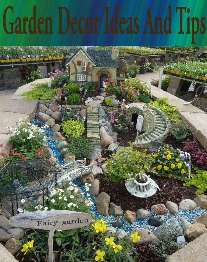 Garden Decor Ideas and Tips