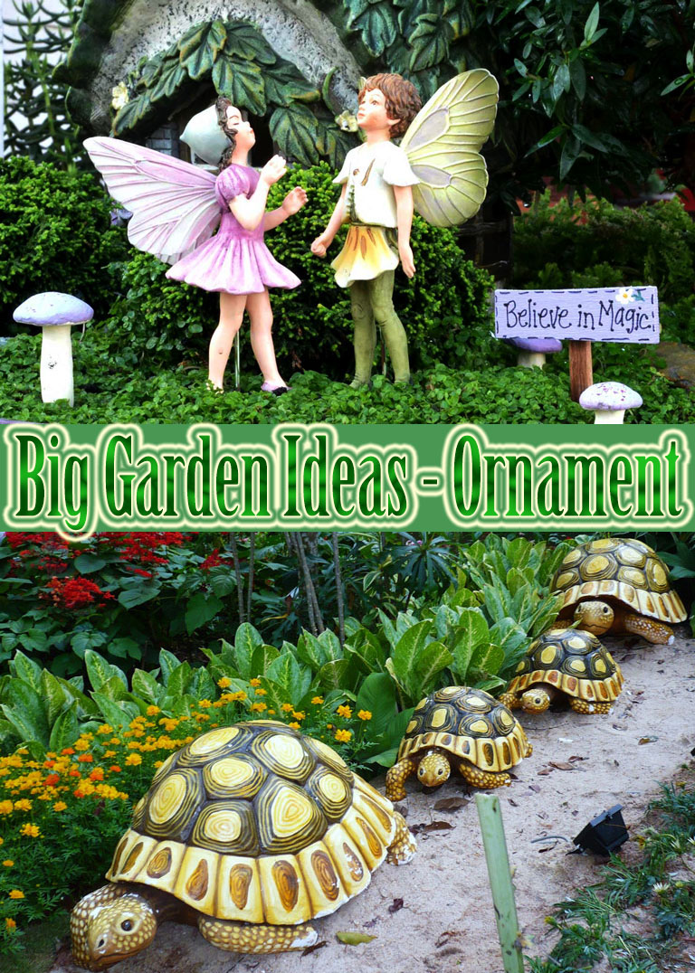 Big Garden Ideas U2013 Ornament