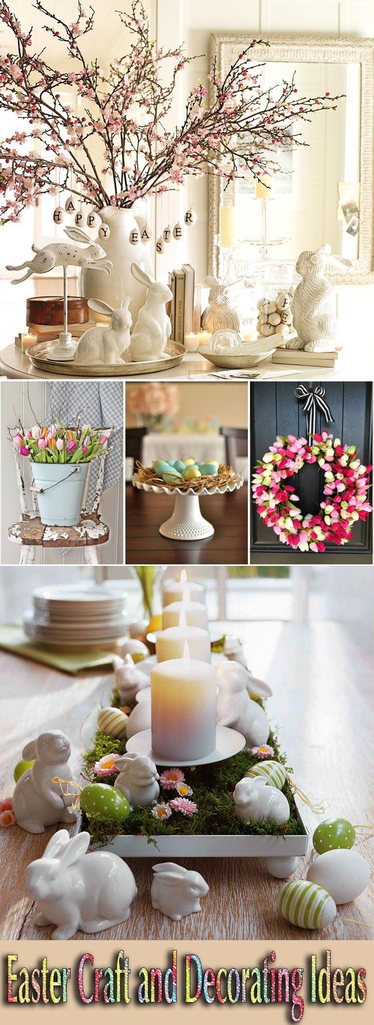 Easter Craft and Decorating Ideas  Quiet Corner