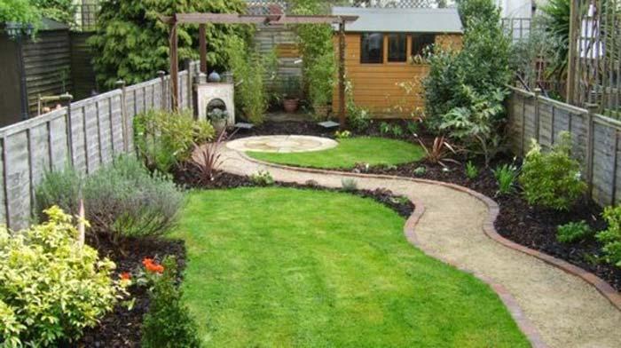 Quiet Corner Small Garden Design Ideas Quiet Corner