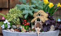 Spring Fairy Garden Idea