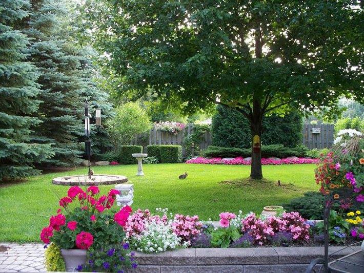 Quiet corner backyard landscape design ideas quiet corner for Garden design visualiser