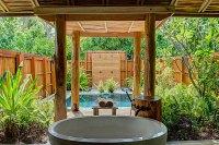 Beautiful Outdoor Bathroom Designs - Quiet Corner