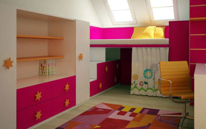 Colorful Kids Room Designs (20)