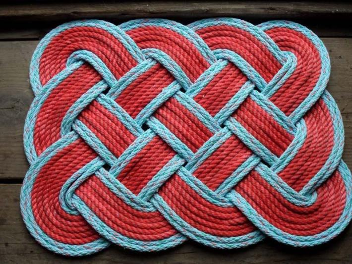 DIY Rope Rug Creative Ideas (12)