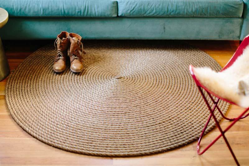 DIY Rope Rug Creative Ideas  Quiet Corner