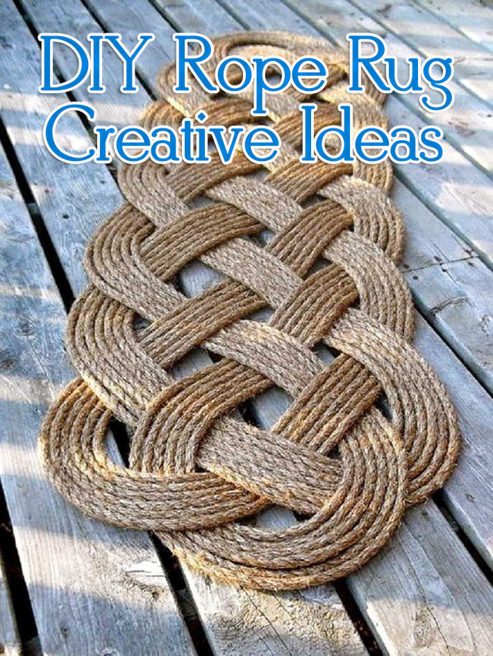 DIY Rope Rug Creative Ideas