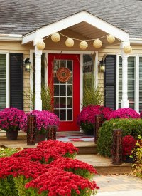 Front Door Entrance Ideas - Quiet Corner