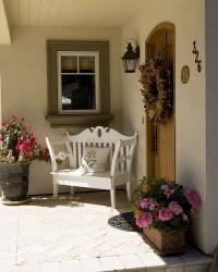 Front Door Entrance Ideas - Quiet Corner