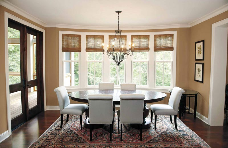Quiet corner living room carpet ideas and photos quiet for Marvin window shades cost