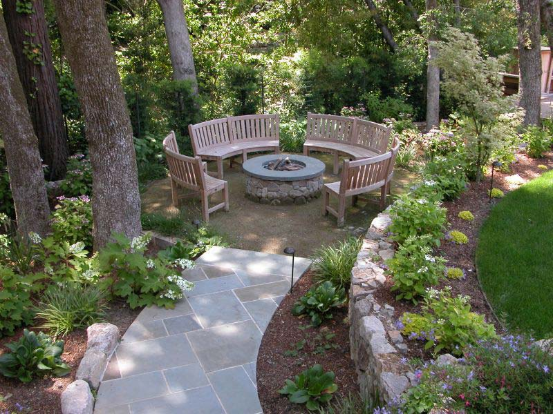 Diy Backyard Fire Pit Ideas All The Accessories You Ll: Quiet Corner:Outdoor Fire Pit Seating Ideas