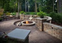 Outdoor Fire Pit Seating Ideas - Quiet Corner