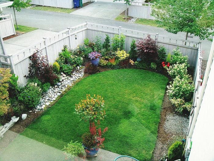 Quiet Corner:Small Space Gardening - Small Gardens - Quiet Corner