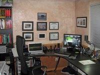 Small Home Office Interior Design - Quiet Corner