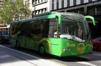The world's first solar powered bus : Tindo