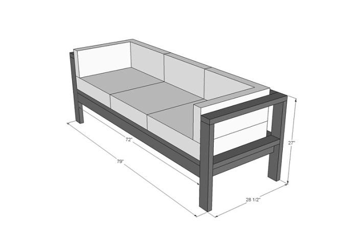 DIY - Summer Outdoor Sofa