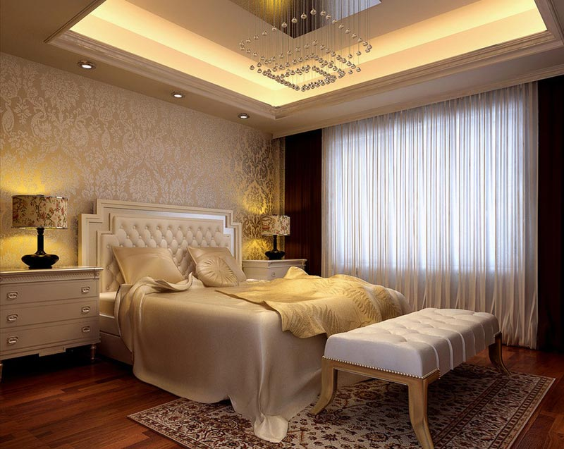 Quiet Corner Beautiful Wallpaper Designs For Bedroom