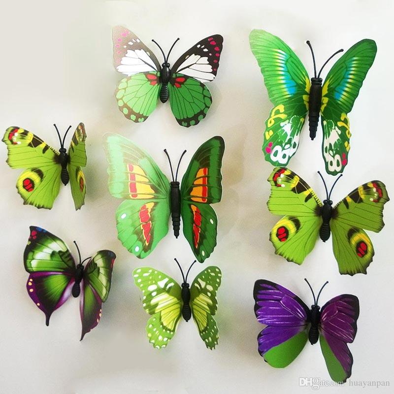 Quiet Corner:Butterfly Pattern Wall Decor