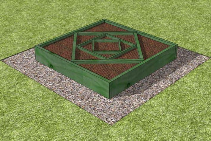 DIY – Diamond Planter
