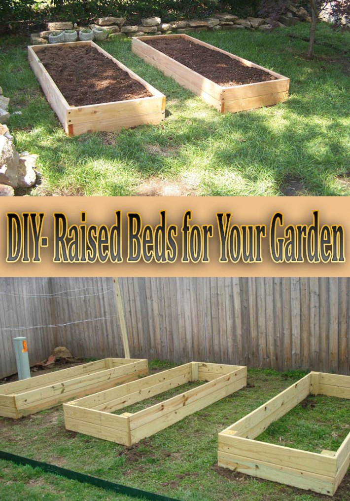 DIY- Raised Beds for Your Garden