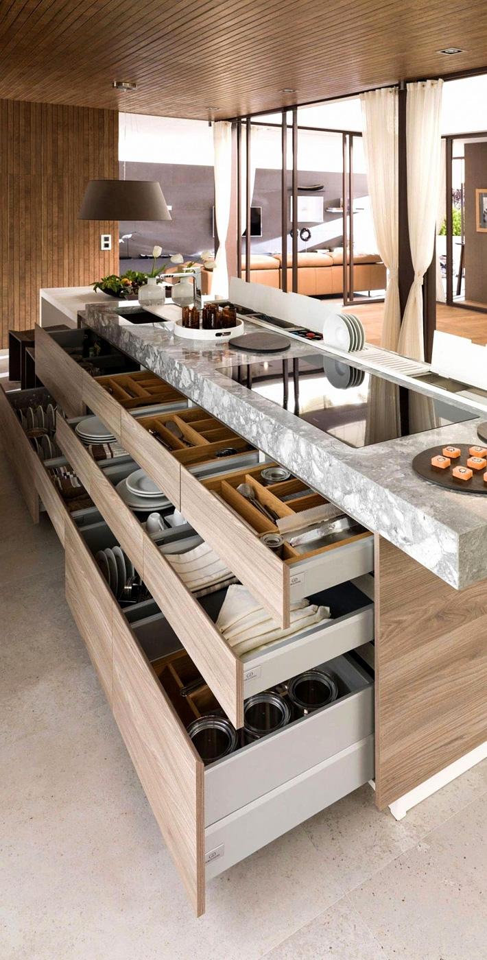 Efficient Kitchen Storage Ideas - Quiet Corner