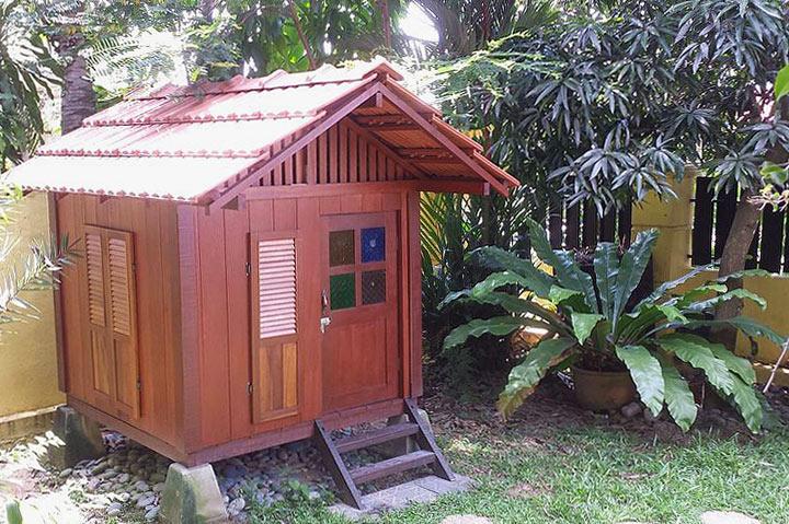 DIY - Balinese Styled Playhouse - Quiet Corner