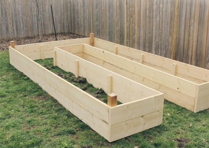 How to Build A U-Shaped Raised Garden Bed