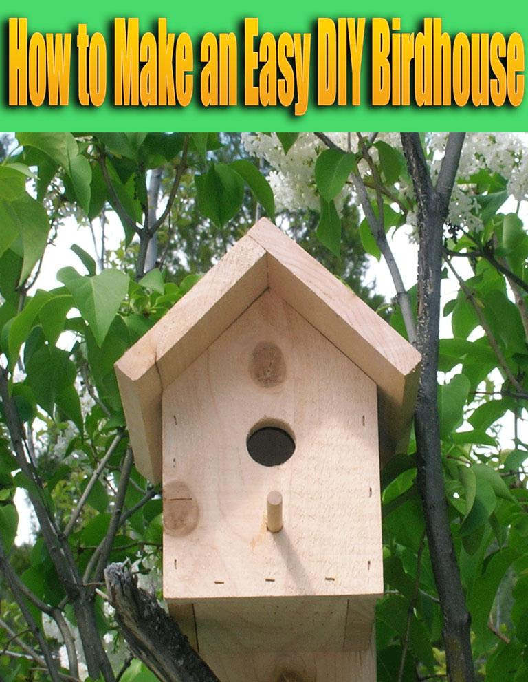 How to Make an Easy DIY Birdhouse - Quiet Corner