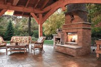 Inspiring Outdoor Fireplace Ideas - Quiet Corner
