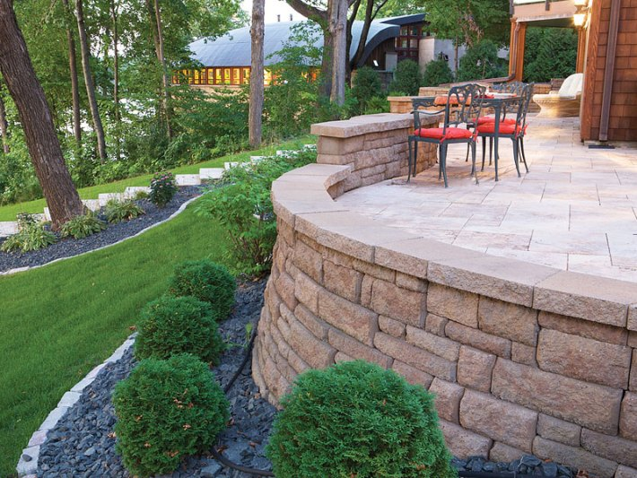 Quiet Corner Inspiring Retaining Walls Ideas Quiet Corner