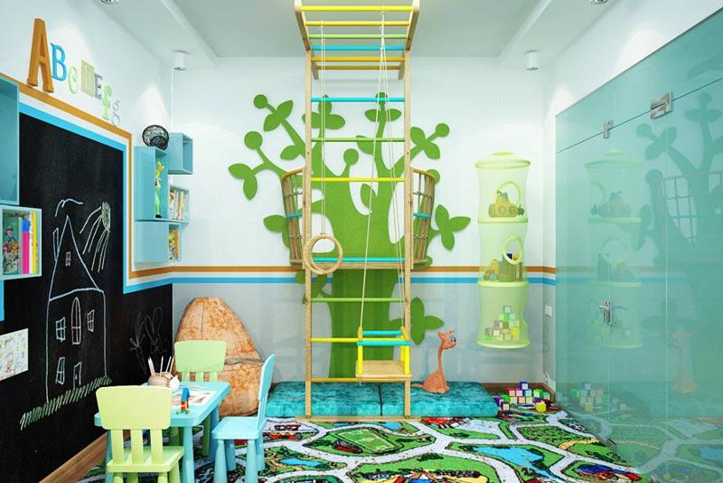 Quiet Corner:Kids Playroom Design Ideas - Quiet Corner