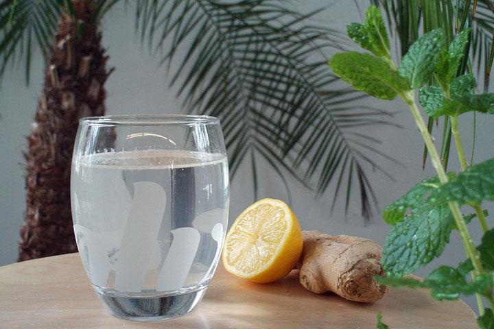 Lemon Ginger Detox Drink - Quiet Corner