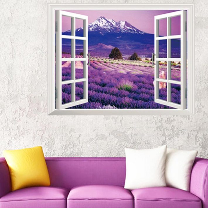 Living Room Photo Wallpapers and Wall Art (9)