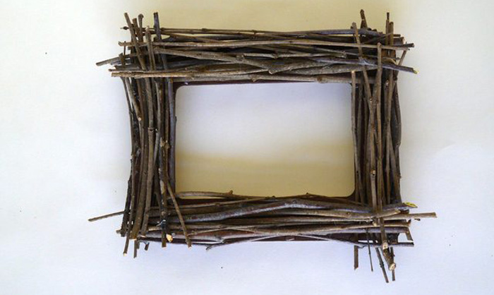 Rustic Twig Frame - DIY Tutorial
