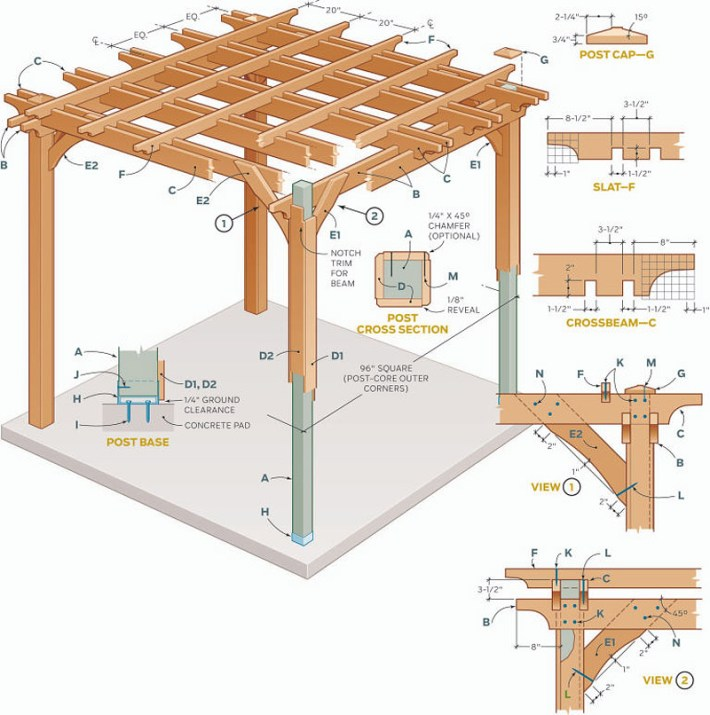 DIY - How to Build a Pergola