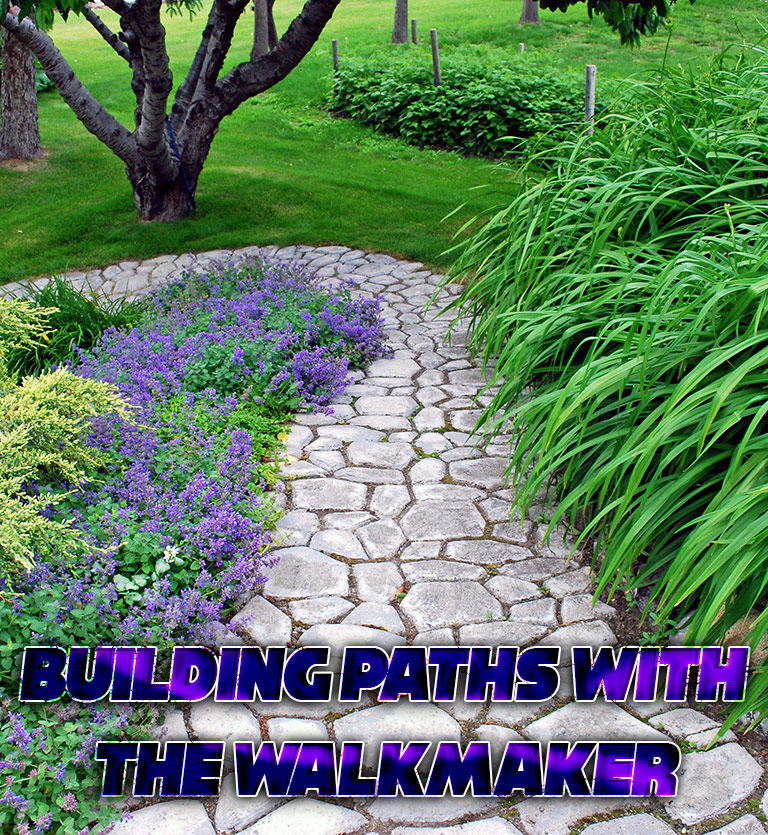 DIY - Building Paths with the Walkmaker - Quiet Corner