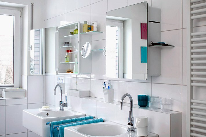 bathroom mirror cabinets - Corner Bathroom Mirror Cabinet