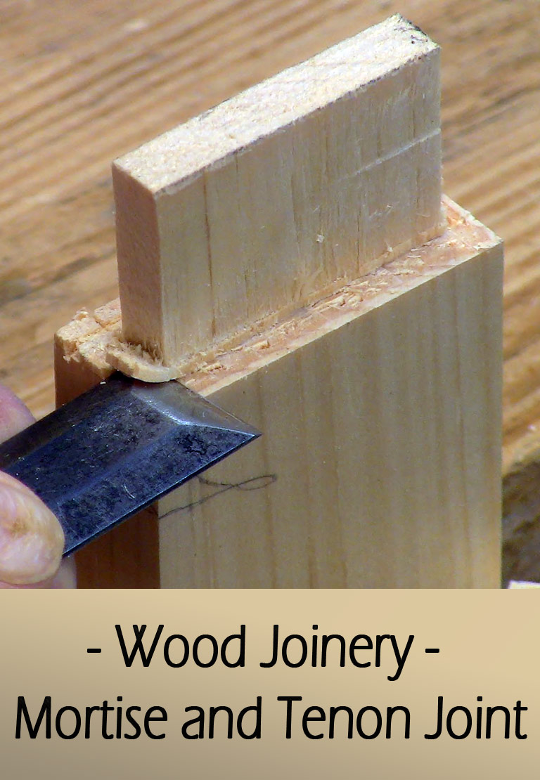 Wood Joinery  Mortise and Tenon Joint  Quiet Corner