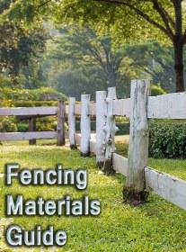 Fencing Materials Guide