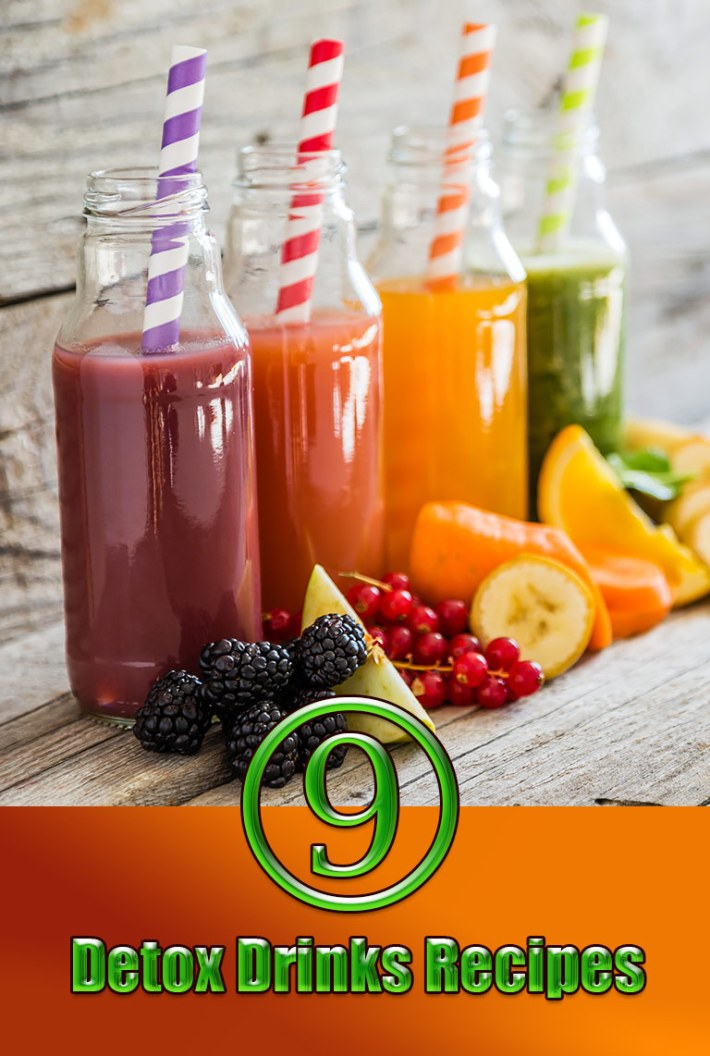 9 Detox Drinks Recipes