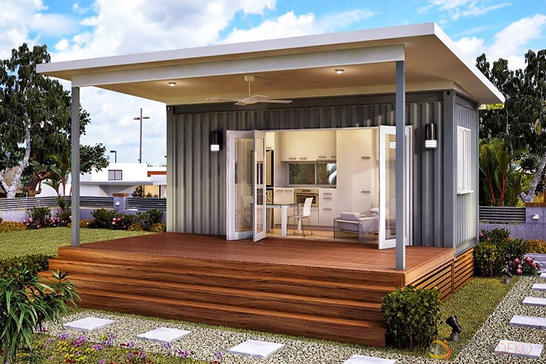 Why Shipping Containers Make Cool Tiny Homes - Quiet Corner