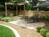 Backyard Landscape Ideas with Natural Touch - Quiet Corner