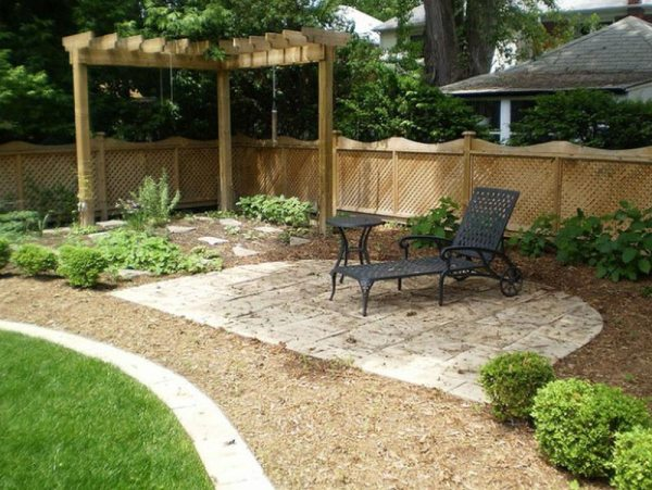 backyard landscape ideas with natural