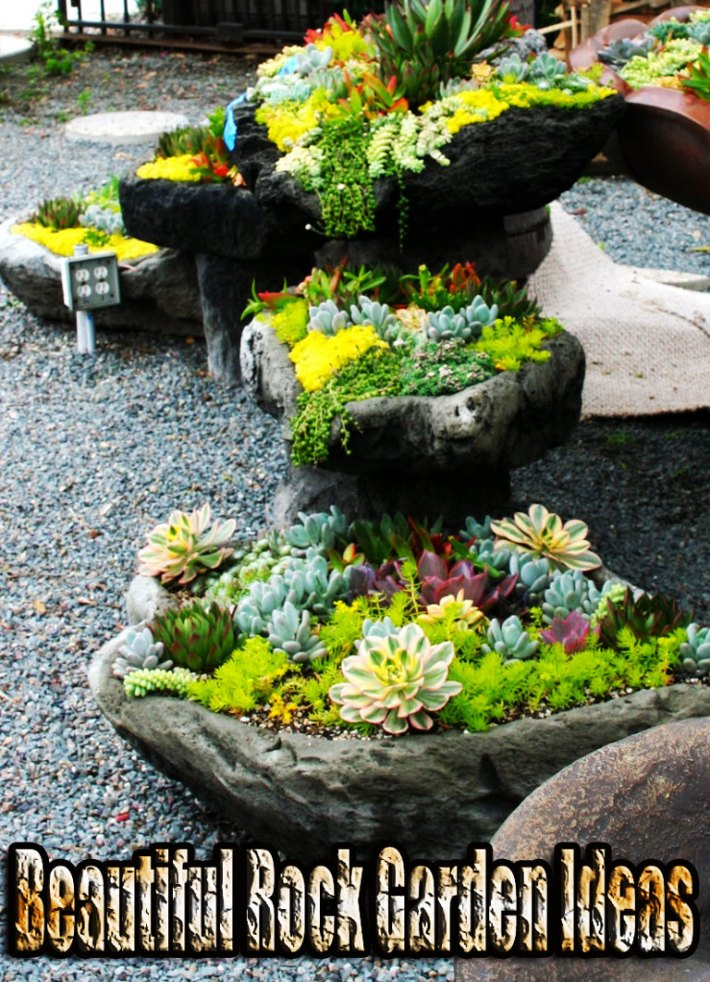 beautiful rock garden ideas - Rock Garden Ideas