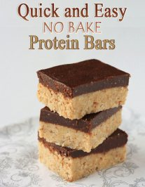 Quick and Easy No-Bake Protein Bars