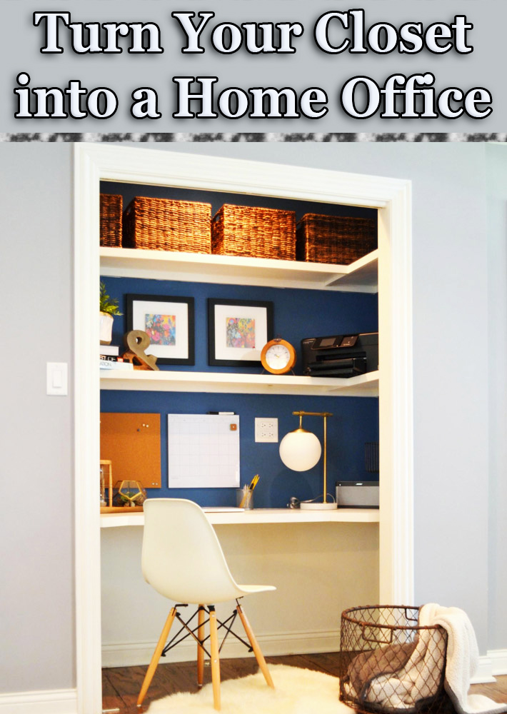 closet into office. Closet Into Office O