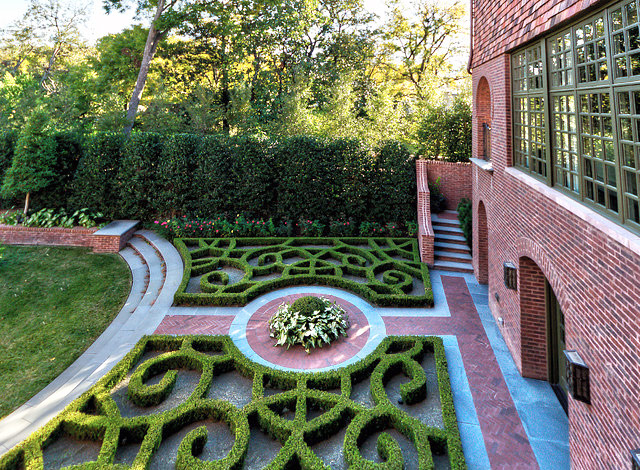 Garden Geometrical Design